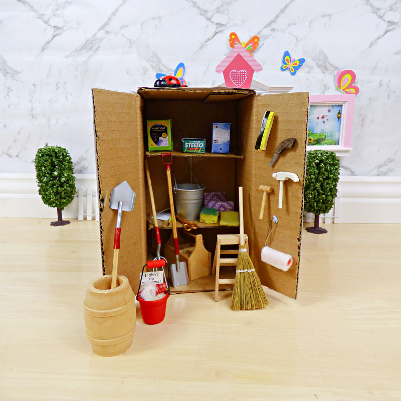What's in the Fairy Toolshed?