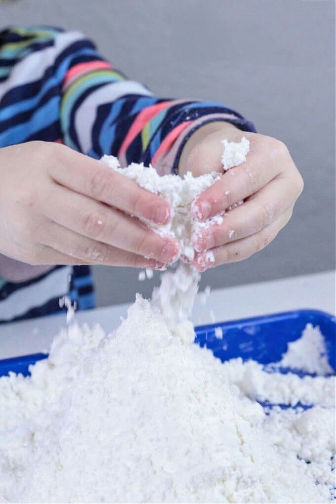 How to make kid safe fairy snow