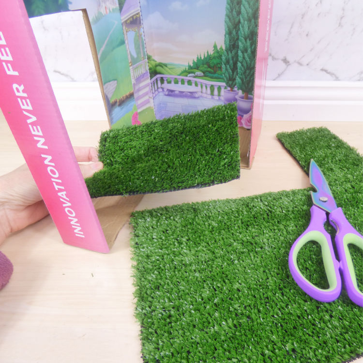 How to Make a Fairy House from a Shoe Box
